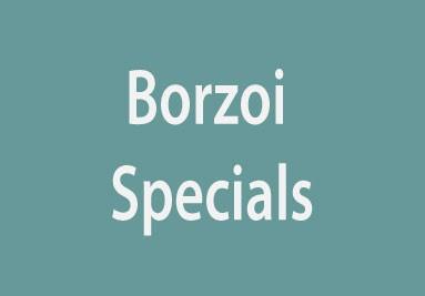 Kijk hier voor Borzoi Mondmaskers, Suncatchers
